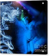 Smoke Gets In Your Eyes Acrylic Print