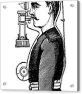 Smoke Hood, 1880s Acrylic Print