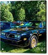 Smokey And The Bandit Acrylic Print