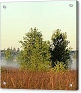 Smokey Autumn Prairie Acrylic Print