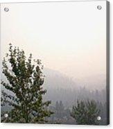 Smokey Landscape Acrylic Print