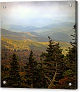Smokey Mountain High Acrylic Print
