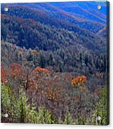 Smokey Mountain Pass Acrylic Print