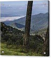Smokey Mountain View Acrylic Print by John McGraw