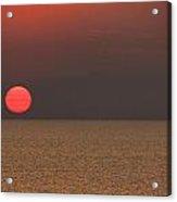 Smokey Sunset V2 Acrylic Print