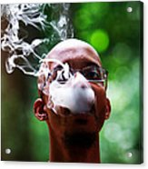 Smokin Puffs Acrylic Print