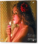 Smoking Hot Acrylic Print