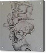 Smokin'ink Acrylic Print