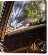 Smoky Crack Lower Left Windshield 2 Acrylic Print