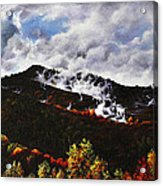 Smoky Mountain Angel Hair Acrylic Print