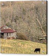 Smoky Mountain Barn 10 Acrylic Print