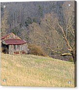Smoky Mountain Barn 9 Acrylic Print