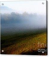 Smoky Mountain Blush Acrylic Print