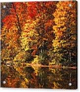 Smoky Mountain Colors - 234 Acrylic Print