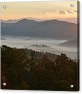 Smoky Mountain Morning Acrylic Print
