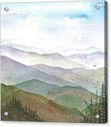 Smoky Mountain Morning Acrylic Print