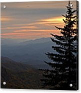 Smoky Mountain Sentinel  Acrylic Print