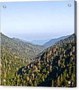 Smoky Mountain View Acrylic Print