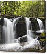 Smoky Mountain Waterfall - D008427 Acrylic Print