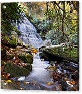 Smoky Mountain Waterfall Acrylic Print