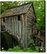 Smoky Mountains Grist Mill Acrylic Print