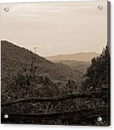Smoky Mountains Lookout Point Acrylic Print