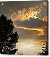 Smoky Summer Afternoon Sky Acrylic Print