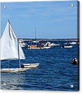 Smooth Sailing Acrylic Print