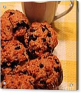 Snack Time - Muffins And Coffee Acrylic Print