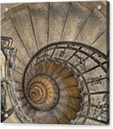 Snailing Stairs Acrylic Print