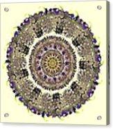 Snake Mandala Acrylic Print