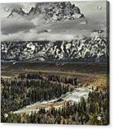 Snake River - Tetons Acrylic Print