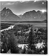 Snake River - Grand Teton National Park Acrylic Print