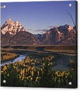 Snake River Panorama Acrylic Print