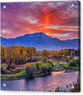 Snake River Sunrise Acrylic Print
