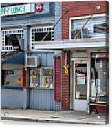 Snappy Lunch And Floyd Nc Acrylic Print by Bob Pardue