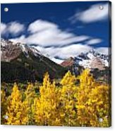 Sneffels Winds Acrylic Print by Darren  White