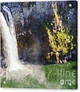Snoqualime Falls And Pool Acrylic Print