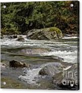 Snoqualmie Rapids Washington Acrylic Print