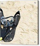 Snorkel Equipment Acrylic Print