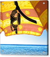 Snorkeling Glasses Acrylic Print by Carlos Caetano
