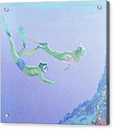 Snorklers Acrylic Print