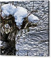 Snow And Icicles No. 2 Acrylic Print