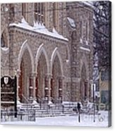 Snow At St. John's Acrylic Print
