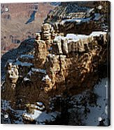 Snow Covered Grand Canyon Acrylic Print