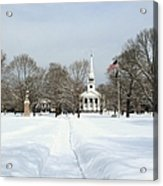 Snow Covered Guilford Acrylic Print