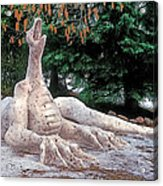 Snow Dragon 2 Acrylic Print