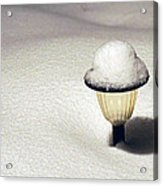 Snow Hat Acrylic Print
