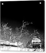 Snow Machines On The Roof Acrylic Print