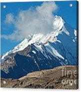 Snow Mountain Acrylic Print